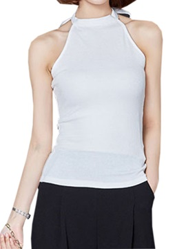 Sexy Back Special Collar Tank Top