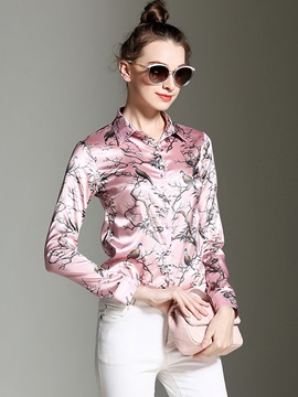 Splendid Print Slim Shirt