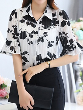 Special Pattern Half Sleeves Shirt