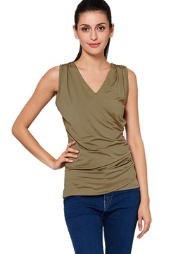 Stylish Asymmetric Hem Tank Top