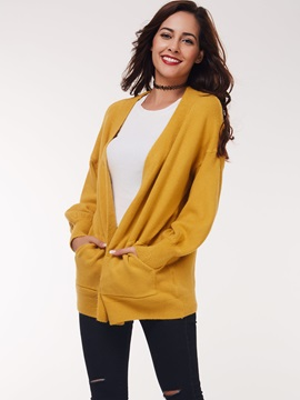 Chic Pocket Loose Cardigan
