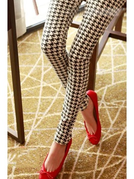 Highlights Korean Style Slim Retro Leggings