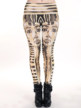 Chic Printing Ninth-Length Leggings