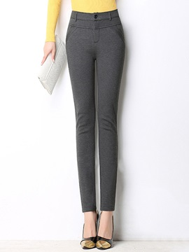 High Waist Wear To Work Casual Pants