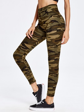 Camouflage Printed Yoga Leggings