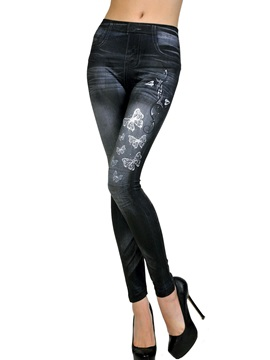 Classic Butterfly Fashion Legging