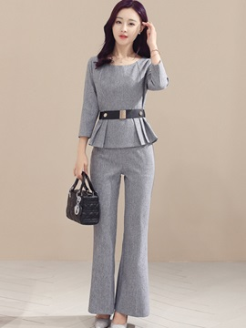 Wear To Work Falbala Pants Suit