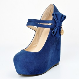 Bowkont Decorative Wedge Pumps