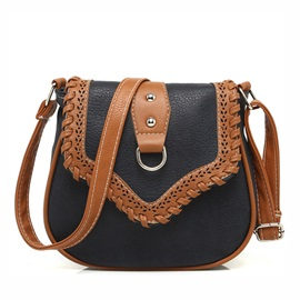 Hollow Pu Women Shoulder Bag