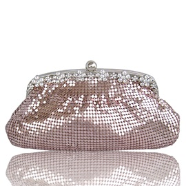 Shining Sequins Decorated Women's Clutch