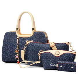 Chic Arrow Pattern Printed Women's Bag Set ( Four Bags )