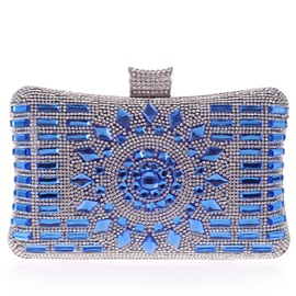 Classical Crystal and Rhinestone Decor Women's Clutches