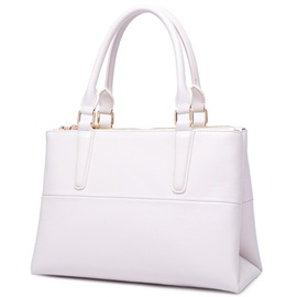Vogue Ladylike Pure Color Women Satchel