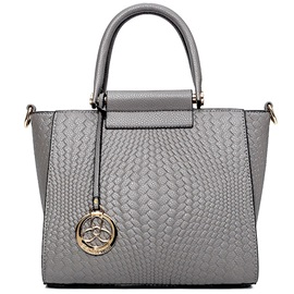 Vogue Knitted Embossed Wing Women Satchel