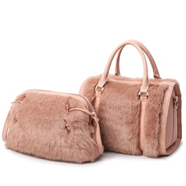 Europeamerica Ladylike Fuzzy Bag Sets
