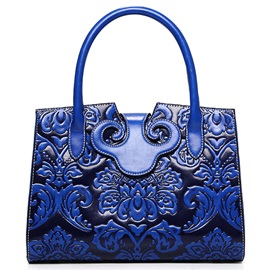 Vogue Ethnic Floral Embossed Women Satchel