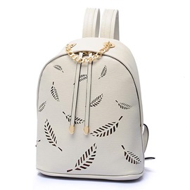 High Quality Hollow Leaf Pattern Backpack
