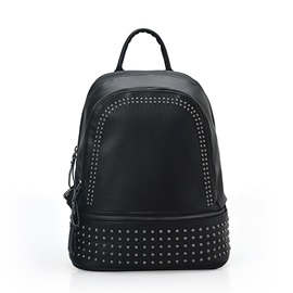 Relaxation Trip Rivets Decor Women's Backpack