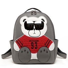 Lovely Bear PU Backpack