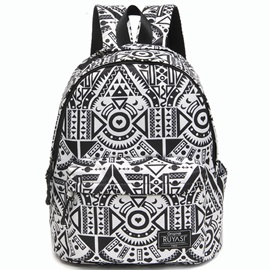 Personality Geometric Pattern Travel Backpack