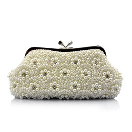Pearl Flower Combine for Wedding Princess Clutches