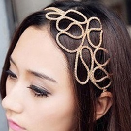 Weave Hollow Hair Band