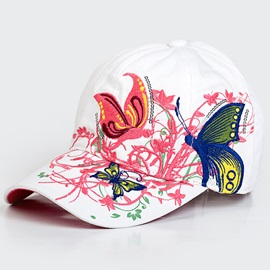 Dome Embroidery Hat for Women