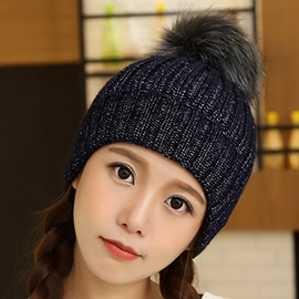 Lovely Mixed Color Knitted Hat