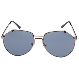 Vintage Metal Frame Anti Uv Sunglasses