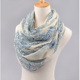 Fashion Pattern Printed Chiffon Women's Big Scarf