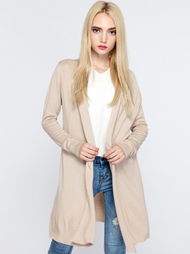 Simple Solid Color Loose Cardigan