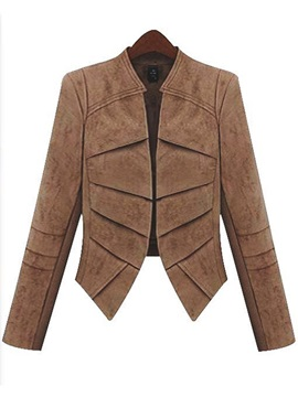 Stylish Pure Color Slim Blazer