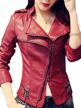 Cool Zipper Decoration Double-Layer Jacket