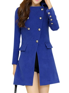 Fashion Double Breasted Slim Trench Coat