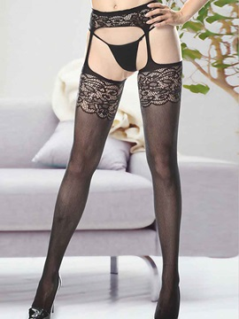 Sexy Lace Hollow Women Garter Belts