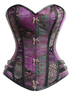 Fany Exotic Overbust Corset with Buckles