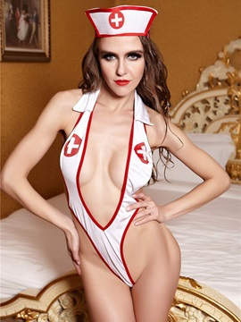 Night Nurse Lingerie Costume Teddy