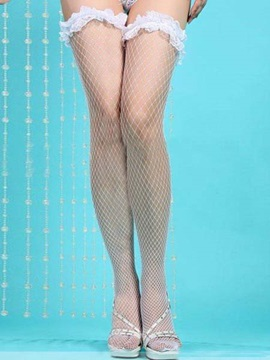 Lace Fashion Mesh See-through Women Stockings