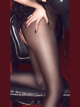Charming Sheer Mesh Open Crotch Pantyhose Stocking