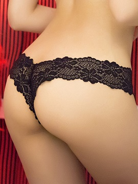 Top Quality Solid Low-waisted Seamless Women Thong