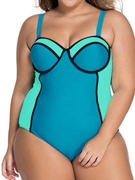 Plus Size Wowen's One Piece Swimsuit