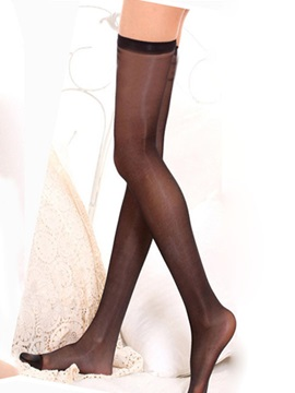 Black See-throughl Women Stockings
