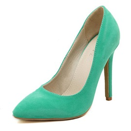 Solid Color Pointed-toe Classic Pumps USD$ 15.69 Reviews (2