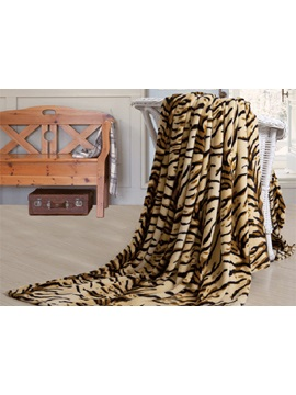 Ecological Tiger's Stripes Flannel Sheet