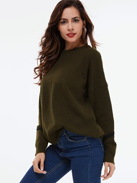 Stylish Back Design Loose Sweater
