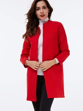 Stylish Multi Color Mid-Length Overcoat