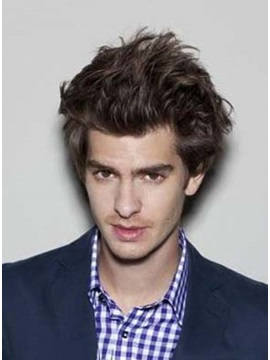 100% Remy Human Hair Hand Knotted Lace Front Cool Men's Wig
