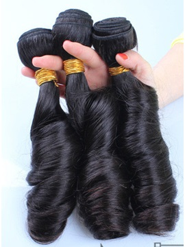Curly Human Hair Weave 1 PC 14 Inches