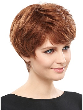 COSCOSS® Straight Synthetic Hair Capless Wig