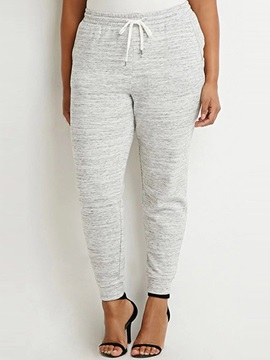 Plus Size Drawstring Loose-Fit Pant